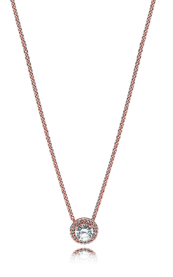 Pandora Classic Elegance Necklace, Pandora Rose™ & Clear CZ 386240CZ-45 product image