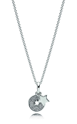 PANDORA Celebration Stars Necklace, Clear CZ 396375CZ-70 product image