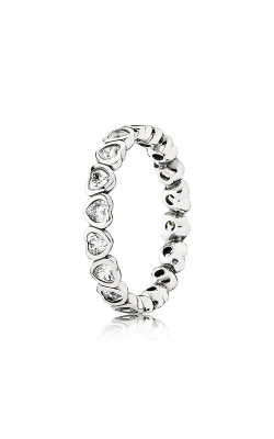 PANDORA Forever More Stackable Ring Clear CZ 190897CZ-48 product image