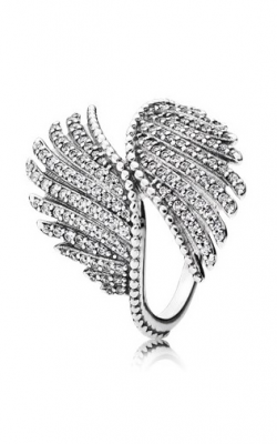 Pandora Majestic Feathers Ring Clear CZ 190960CZ-48 product image