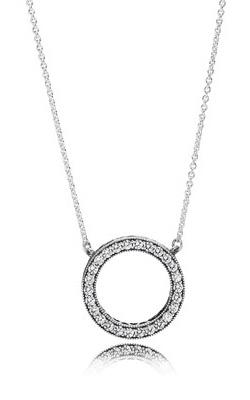 PANDORA Hearts of PANDORA Pendant Clear CZ 590514CZ-45 product image