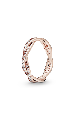 Pandora Rose™ & Clear CZ, Twist Of Fate Ring 180892CZ-50 product image