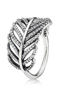 Pandora Light As A Feather Ring Clear CZ 190886CZ-52 (Retired) product image