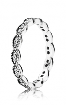 Pandora Sparkling Leaves Stackable Ring Clear CZ 190923CZ-48 product image