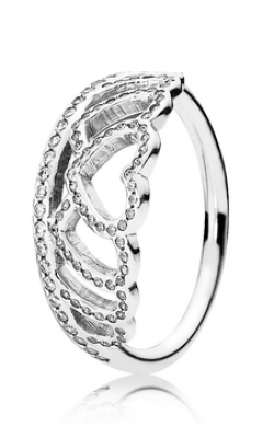 PANDORA Hearts Tiara Ring Clear CZ 190958CZ-48 product image