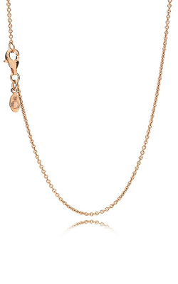 PANDORA Necklace Chain Sterling Silver & 14K Rose Gold 580412-90 product image