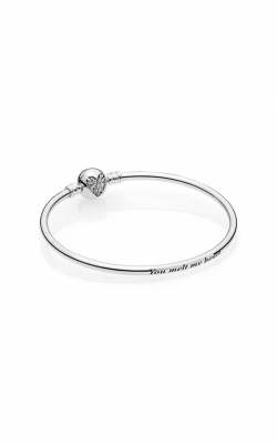 PANDORA Heart of Winter Clear CZ Limited Edition Bangle Gift Set B800646-19 product image