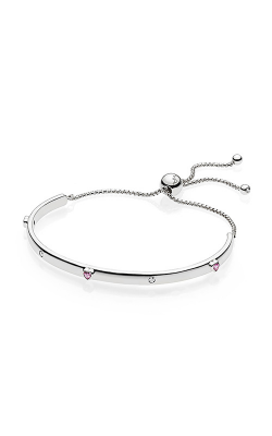 PANDORA Explosion of Love Bracelet Fancy Fuchsia Pink & Clear CZ 596585FPC-3 (Retired) product image