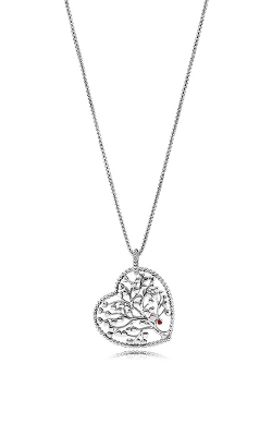 PANDORA Tree Of Love Necklace Mixed Enamel 396582ENMX-75 product image