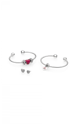 PANDORA Be Mine Stacked Open Bangle Gift Set B800775-2 (Retired) product image