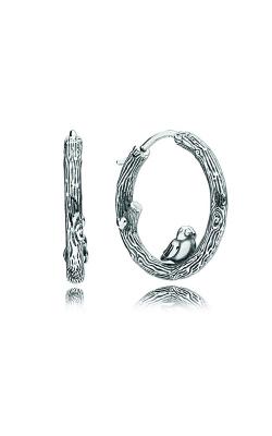 PANDORA Spring Bird Hoop Earrings 297072 product image