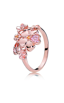 PANDORA Rose™ & Blush Pink Crystal Wildflower Meadow Ring 187083NPRMX-48 product image