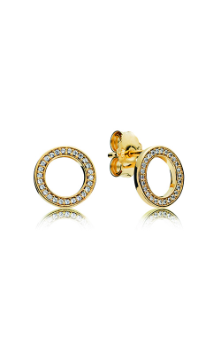 Pandora Shine & Clear CZ, Forever Stud Earrings 267112CZ product image