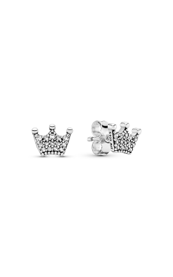 Pandora Enchanted Crowns Stud Earrings, Clear CZ 297127CZ product image