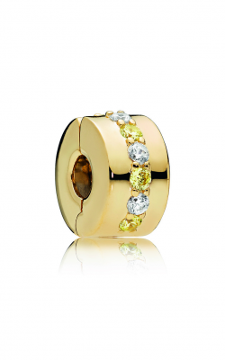 Pandora Shine™ & Yellow & Clear CZ Shining Path Clip 767051CSY (Retired) product image