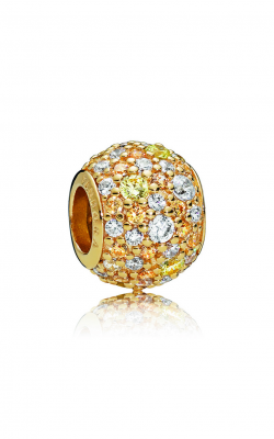 Pandora Shine™ & Multi-Colored CZ Golden Mix Pavé Charm 767052CSY product image