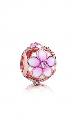Pandora Rose™ Blush Pink Crystal And Mixed Enamel Magnolia Bloom Charm 782087NBP product image