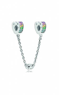 Pandora Multi-Colored Arcs Of Love Safety Chain, Multi-Colored CZ & Crystals 797021NRPMX product image