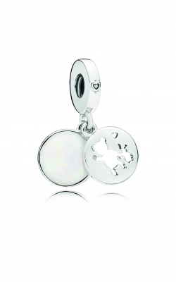 Pandora Perfect Pals Dangle Charm, Silver Enamel 797035EN23 product image