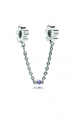 Pandora Wildflower Meadow Safety Chain, Royal Purple Crystals 797090NRP product image