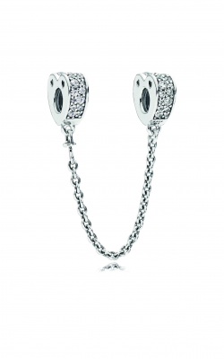 Pandora Clear CZ Sparkling Arcs Of Love Safety Chain 797138CZ product image