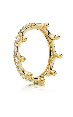 PANDORA Shine™ & Clear CZ Enchanted Crown Ring 167119CZ-50 product image