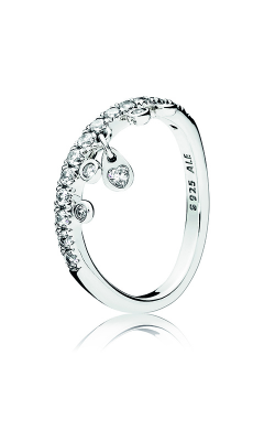 PANDORA Chandelier Droplets Ring, Clear CZ 197108CZ-50 product image