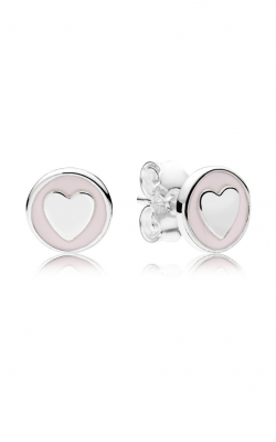 Sweet Statements Stud Earrings, Pale Pink Enamel 297275EN160 product image