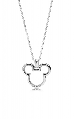 Disney, Mickey Floating Locket, Clear CZ 397177-75 product image