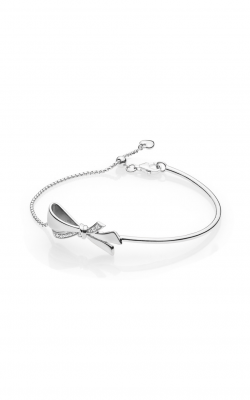 Brilliant Bow Bracelet, Clear CZ 597242CZ-1 product image