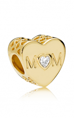 Pandora SHINE™, Mother Heart & Clear CZ Charm 761881CZ product image