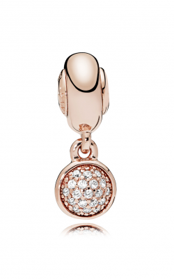 PANDORA ROSE™, Clear CZ & HOPE Dangle Charm 786090CZ product image