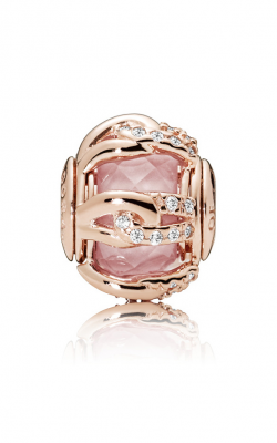 Pandora ROSE™, BONDS OF LOVE, Blush Pink Crystal & Clear CZ Charm 787279NBP product image
