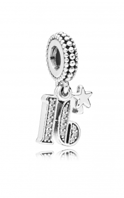 16 Years Of Love Dangle Charm, Clear CZ 797261CZ product image
