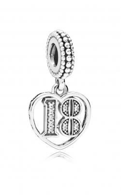 18 Years Of Love Dangle Charm, Clear CZ 797262CZ product image