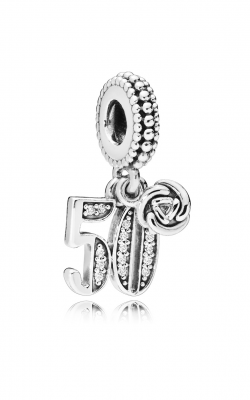 50 Years of Love Dangle Charm, Clear CZ 797264CZ product image