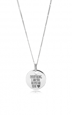 Pandora Everything I Am You Helped Me To Be Disc Necklace ENG397122 2-60 product image