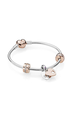 In My Heart Bracelet Gift Set, PANDORA Rose™, Clear CZ and Multi-Colored Crystals B800870-17 product image