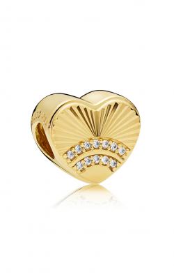 Pandora Shine™ & Clear Fan Of Love Charm CZ 767288CZ product image