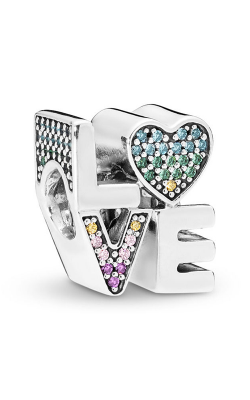 Pandora Multi-Color Love Charm, Multi-Colored CZ 797189NRPMX product image