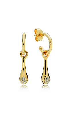 Modern LovePods™ Earrings PANDORA Shine™ & Clear CZ 267357CZ product image