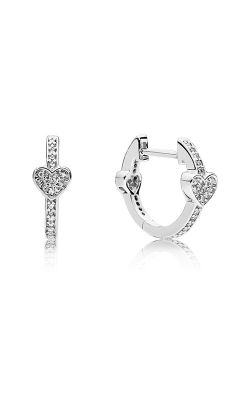 Pandora Alluring Hearts Clear CZ Earrings 297290CZ product image