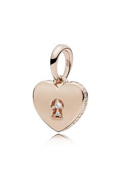 Pandora Rose™ Shimmering Keyhole Clear CZ Pendant 387687CZ (Retired) product image
