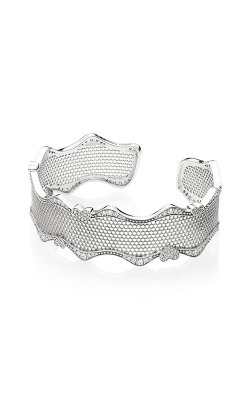 PANDORA Lace of Love Clear CZ Cuff 597704CZ-1 product image