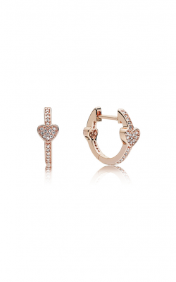 PANDORA Alluring Hearts Clear CZ Earrings 287290CZ product image