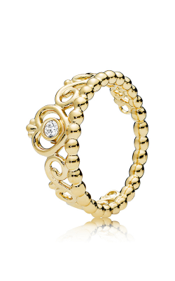 PANDORA My Princess Tiara Clear CZ Fashion Ring 167158CZ-56 product image