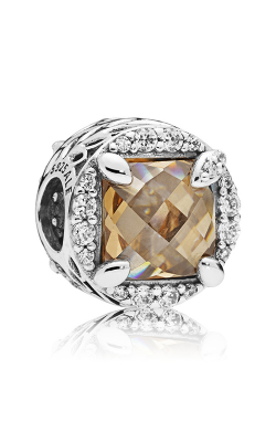 PANDORA Radiant Grains of Energy Clear & Golden Colored CZ Charm 797650CCZ product image