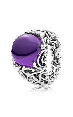 PANDORA Regal Dazzling Beauty Purple CZ Fashion Ring 197678ACZ-54 product image