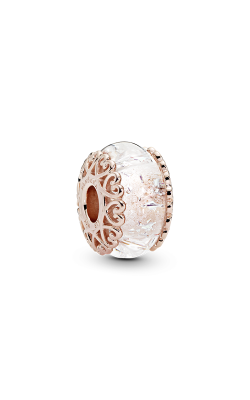 PANDORA Shine™ Iridescent White Glass Charm 787576 product image