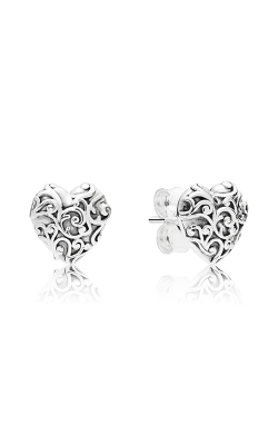 PANDORA Regal Hearts Earrings 297693 product image